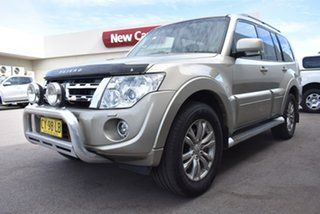 2013 Mitsubishi Pajero NW MY13 VR-X Gold 5 Speed Sports Automatic Wagon.