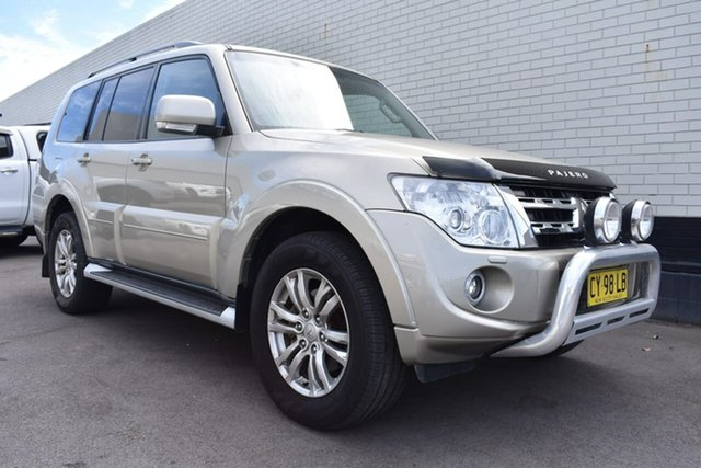 Used Mitsubishi Pajero NW MY13 VR-X, 2013 Mitsubishi Pajero NW MY13 VR-X Gold 5 Speed Sports Automatic Wagon