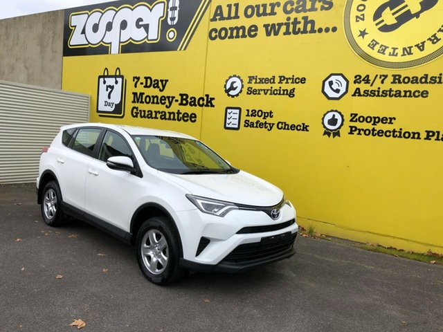 Used Toyota RAV4 ASA44R GX AWD, 2015 Toyota RAV4 ASA44R GX AWD White 6 Speed Sports Automatic Wagon