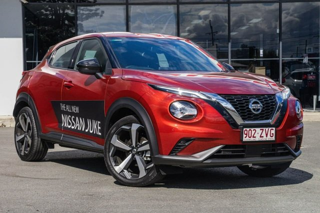 Demo Nissan Juke F16 ST-L DCT 2WD, 2020 Nissan Juke F16 ST-L DCT 2WD Fuji Sunset Red 7 Speed Sports Automatic Dual Clutch Hatchback
