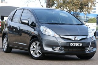 2015 Honda Jazz GE Hybrid Grey Continuous Variable Hatchback.