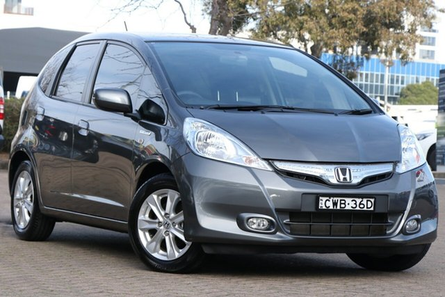 Used Honda Jazz GE Hybrid, 2015 Honda Jazz GE Hybrid Grey Continuous Variable Hatchback