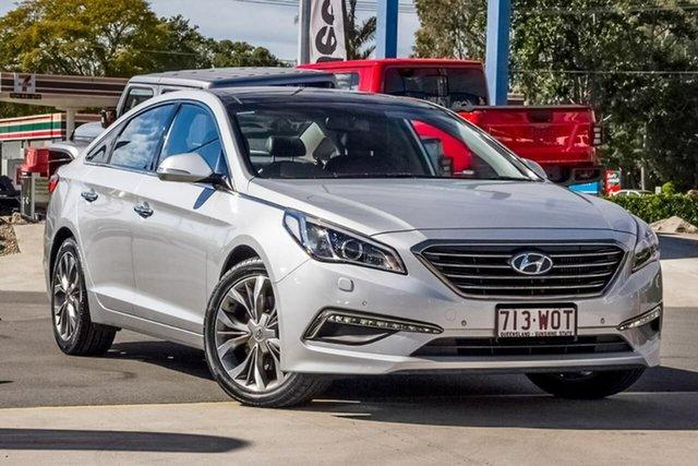 Used Hyundai Sonata LF MY16 Premium, 2016 Hyundai Sonata LF MY16 Premium Silver, Chrome 6 Speed Sports Automatic Sedan
