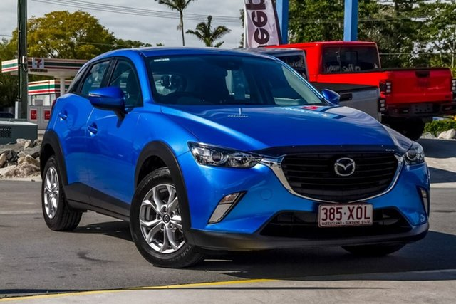 Used Mazda CX-3 DK2W76 Maxx SKYACTIV-MT, 2017 Mazda CX-3 DK2W76 Maxx SKYACTIV-MT Blue 6 Speed Manual Wagon