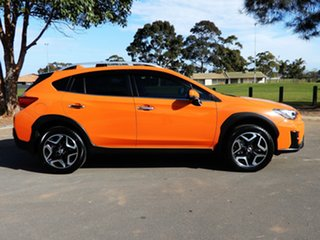 2017 Subaru XV G5X MY18 2.0i-S Lineartronic AWD Sunshine Orange 7 Speed Constant Variable Wagon