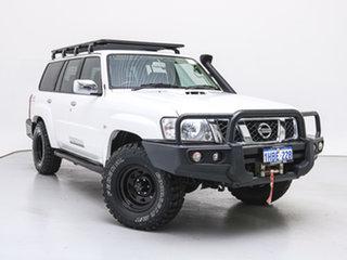 2016 Nissan Patrol GU Series 10 ST (4x4) White 5 Speed Manual Wagon.