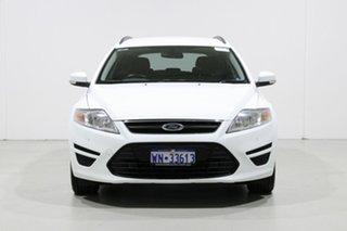2014 Ford Mondeo MC LX TDCi White 6 Speed Direct Shift Wagon.