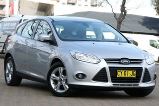 2013 Ford Focus LW MK2 Upgrade Trend Silver 6 Speed Automatic Hatchback.