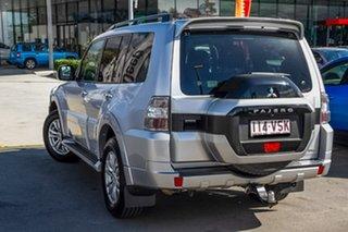 2014 Mitsubishi Pajero NX MY15 GLX Cool Silver 5 Speed Sports Automatic Wagon.