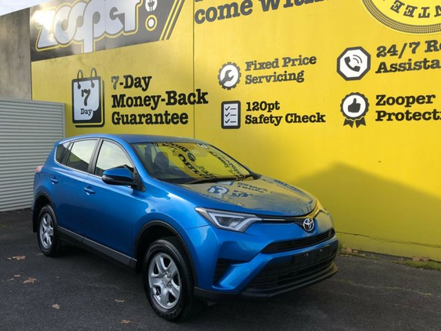 Used Toyota RAV4 ASA44R GX AWD, 2015 Toyota RAV4 ASA44R GX AWD Blue 6 Speed Sports Automatic Wagon