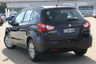 2013 Suzuki S-Cross JY GL Black 7 Speed Constant Variable Hatchback.