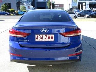 2018 Hyundai Elantra AD MY18 Elite Blue 6 Speed Sports Automatic Sedan.