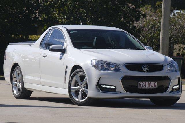 Used Holden Ute VF MY15 SV6 Ute, 2015 Holden Ute VF MY15 SV6 Ute Heron White 6 Speed Sports Automatic Utility