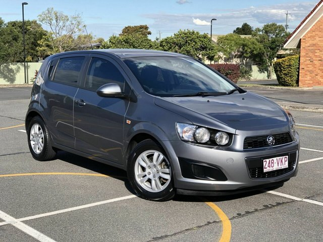 Used Holden Barina TM MY15 CD, 2014 Holden Barina TM MY15 CD Grey 6 Speed Automatic Hatchback