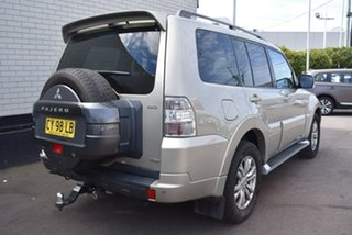 2013 Mitsubishi Pajero NW MY13 VR-X Gold 5 Speed Sports Automatic Wagon