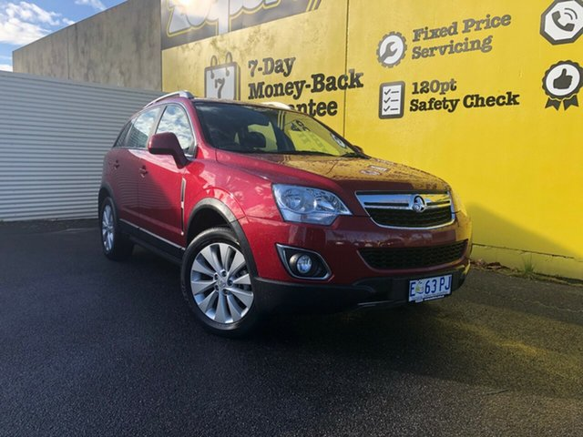 Used Holden Captiva CG MY15 5 LT, 2015 Holden Captiva CG MY15 5 LT Red 6 Speed Sports Automatic Wagon