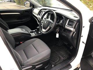 2018 Toyota Kluger GSU55R GX AWD Crystal Pearl 8 Speed Sports Automatic Wagon