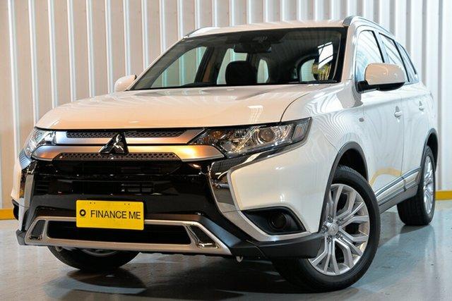 Used Mitsubishi Outlander ZL MY20 ES AWD, 2020 Mitsubishi Outlander ZL MY20 ES AWD White 6 Speed Constant Variable Wagon