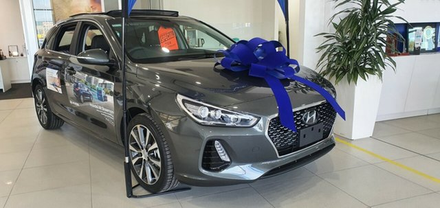 New Hyundai i30 PD2 MY20 Premium, 2020 Hyundai i30 PD2 MY20 Premium Iron Grey 6 Speed Sports Automatic Hatchback