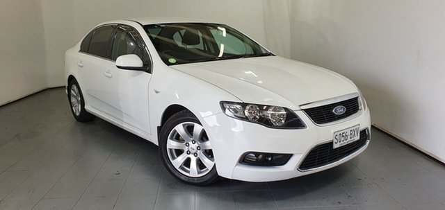 Used Ford Falcon FG G6, 2011 Ford Falcon FG G6 White 6 Speed Sports Automatic Sedan