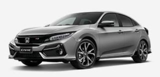 2020 Honda Civic 10th Gen MY20 RS Silver 1 Speed Constant Variable Hatchback
