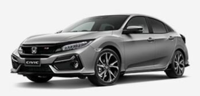 New Honda Civic 10th Gen MY20 RS Atherton, 2020 Honda Civic 10th Gen MY20 RS Silver 1 Speed Constant Variable Hatchback