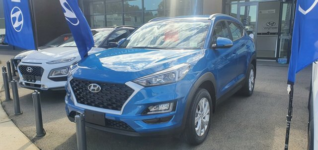 New Hyundai Tucson TL4 MY20 Active 2WD, 2020 Hyundai Tucson TL4 MY20 Active 2WD Aqua Blue 6 Speed Automatic Wagon