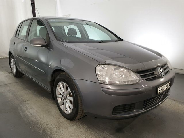 Used Volkswagen Golf V MY08 Edition DSG, 2008 Volkswagen Golf V MY08 Edition DSG Grey 6 Speed Sports Automatic Dual Clutch Hatchback