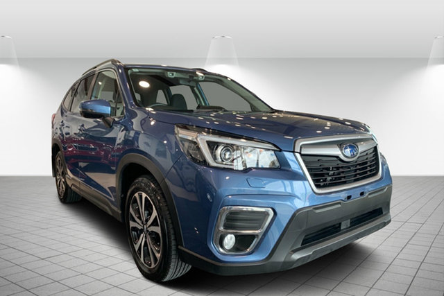 Used Subaru Forester S5 MY20 2.5i Premium CVT AWD, 2019 Subaru Forester S5 MY20 2.5i Premium CVT AWD Blue 7 Speed Constant Variable Wagon