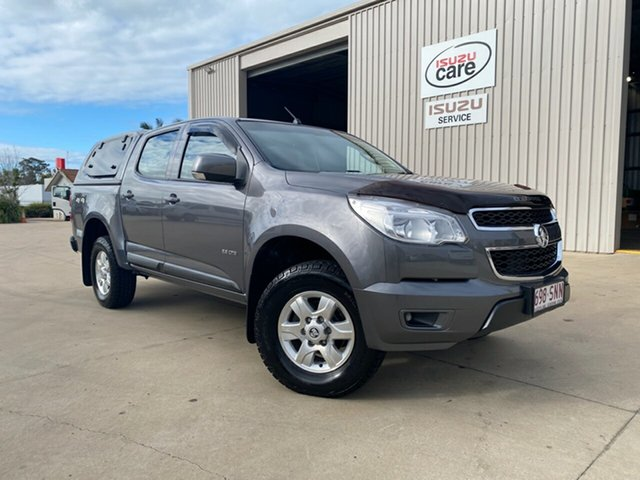 Used Holden Colorado RG MY13 LT Crew Cab, 2012 Holden Colorado RG MY13 LT Crew Cab Royal Grey 6 Speed Sports Automatic Utility