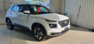 2020 Hyundai Venue QX MY20 Active Polar White 6 Speed Automatic Wagon