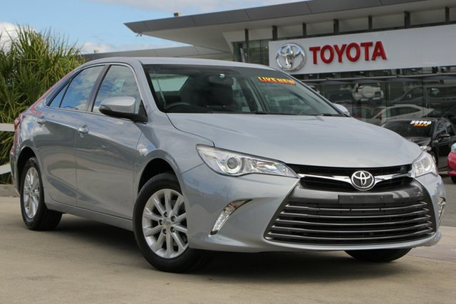 Used Toyota Camry ASV50R Altise, 2015 Toyota Camry ASV50R Altise Ocean Mist 6 Speed Sports Automatic Sedan