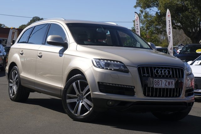 Used Audi Q7 MY10 TDI Quattro, 2010 Audi Q7 MY10 TDI Quattro Gold 6 Speed Sports Automatic Wagon