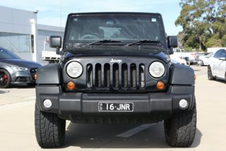 2011 Jeep Wrangler JK MY09 Sport (4x4) Black 6 Speed Manual Softtop