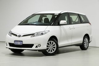2019 Toyota Tarago ACR50R MY16 GLi White 7 Speed CVT Auto Sequential Wagon.