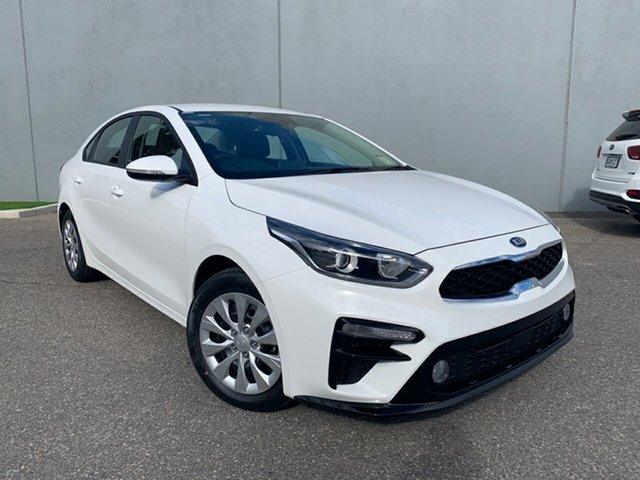 Demo Kia Cerato BD MY20 S Cheltenham, 2020 Kia Cerato BD MY20 S Clear White 6 Speed Sports Automatic Sedan