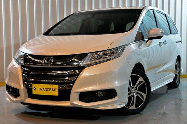 Used Honda Odyssey RC MY16 VTi-L, 2016 Honda Odyssey RC MY16 VTi-L Black 7 Speed Constant Variable Wagon