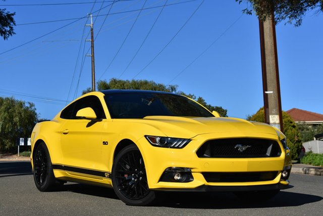 Used Ford Mustang FM 2017MY GT Fastback, 2016 Ford Mustang FM 2017MY GT Fastback Yellow 6 Speed Manual Fastback