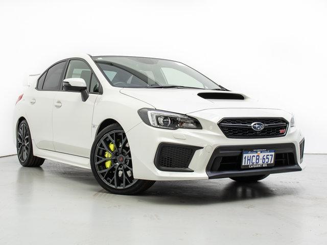 Used Subaru WRX MY19 STI Premium (AWD), 2019 Subaru WRX MY19 STI Premium (AWD) White 6 Speed Manual Sedan