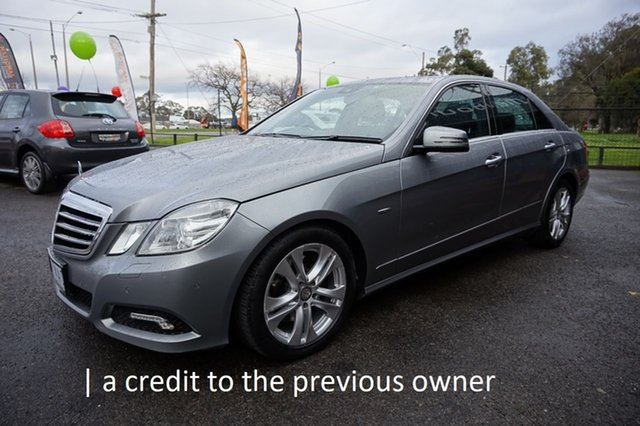 Used Mercedes-Benz E250 CDI W212 BlueEFFICIENCY Avantgarde, 2010 Mercedes-Benz E250 CDI W212 BlueEFFICIENCY Avantgarde Cubanite Silver 5 Speed Sports Automatic