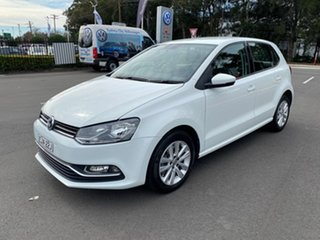 2016 Volkswagen Polo 6R MY16 81TSI DSG Comfortline White 7 Speed Sports Automatic Dual Clutch.