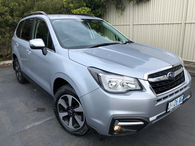 Used Subaru Forester S4 MY18 2.5i-L CVT AWD, 2018 Subaru Forester S4 MY18 2.5i-L CVT AWD Ice Silver 6 Speed Constant Variable Wagon