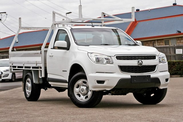 Used Holden Colorado RG MY16 LS 4x2, 2016 Holden Colorado RG MY16 LS 4x2 White 6 Speed Manual Cab Chassis