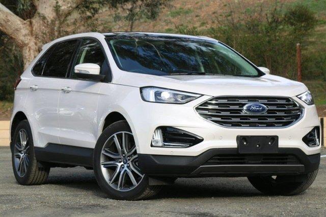 Used Ford Endura CA 2019MY Titanium, 2018 Ford Endura CA 2019MY Titanium White 8 Speed Sports Automatic Wagon