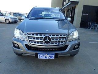 2010 Mercedes-Benz M-Class W164 MY10 ML350 CDI BlueEFFICIENCY Dolphin Grey 7 Speed Sports Automatic.