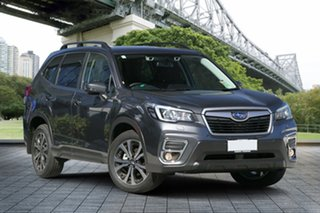 2019 Subaru Forester S5 MY20 2.5i Premium CVT AWD Magnetite Grey 7 Speed Constant Variable Wagon.
