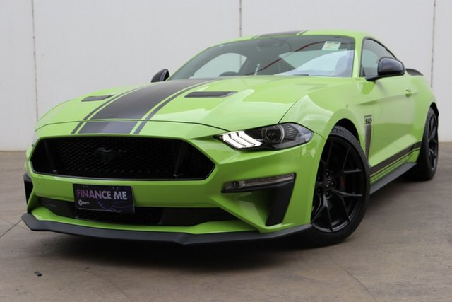 New Ford Mustang FN 2020MY GT Deer Park, 2019 Ford Mustang FN 2020MY GT Grabber Lime 6 Speed Manual Fastback