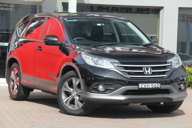 Used Honda CR-V RM MY15 VTi Plus, 2014 Honda CR-V RM MY15 VTi Plus Black 5 Speed Automatic Wagon