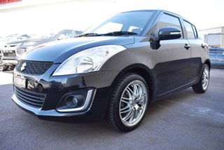 2015 Suzuki Swift FZ MY15 GL Navigator Black 4 Speed Automatic Hatchback.