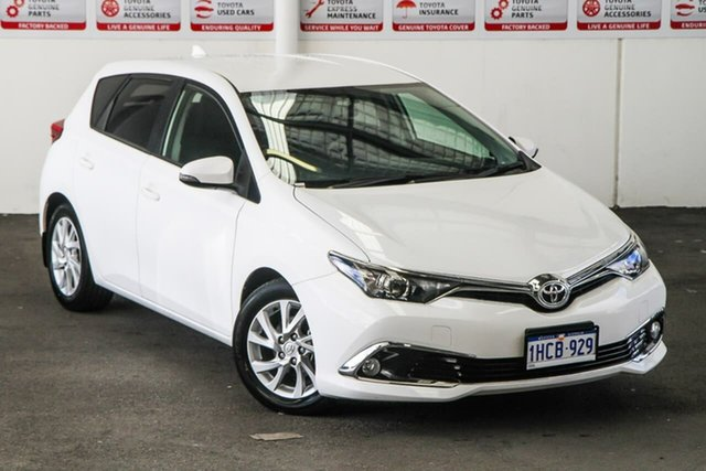 Used Toyota Corolla ZRE182R Ascent Sport S-CVT, 2018 Toyota Corolla ZRE182R Ascent Sport S-CVT Glacier White 7 Speed Constant Variable Hatchback